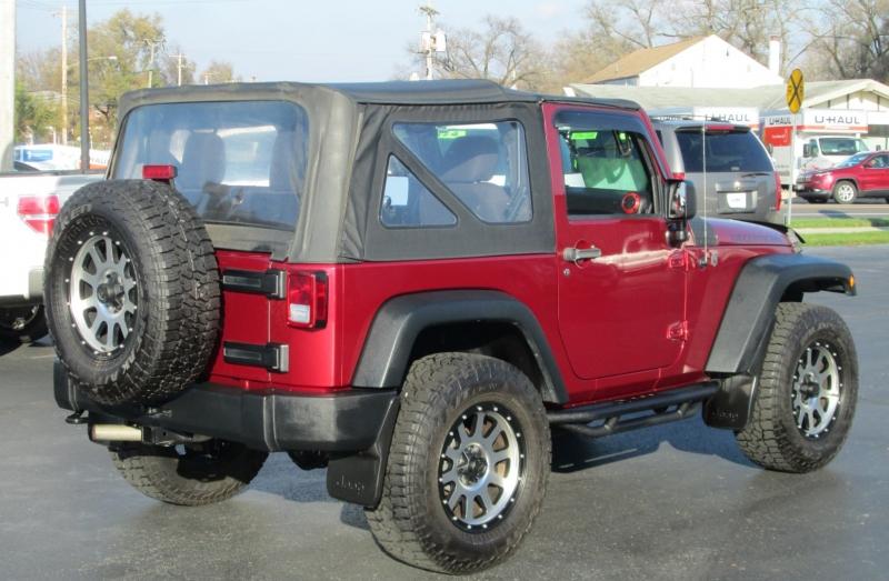 Jeep WRANGLER 2DR SPORT 4X4 2013 price $19,995