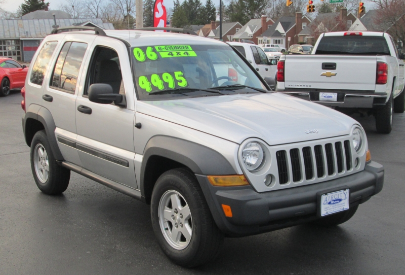 Jeep LIBERTY SPORT 4X4 2006 price $4,495