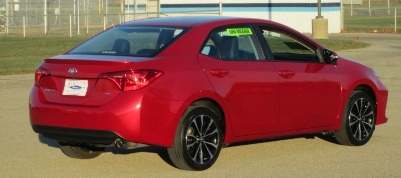 Toyota COROLLA 4DR SEDAN SE 2018 price $15,995
