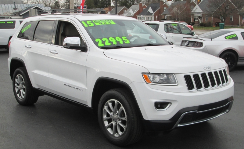 Jeep GRAND CHEROKEE LIMITED 4X4 2015 price $22,995