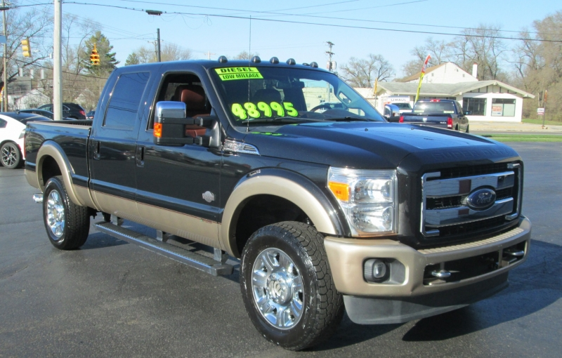 Ford SUPER DUTY DIESEL F-350 KING RANCH 2014 price $48,995