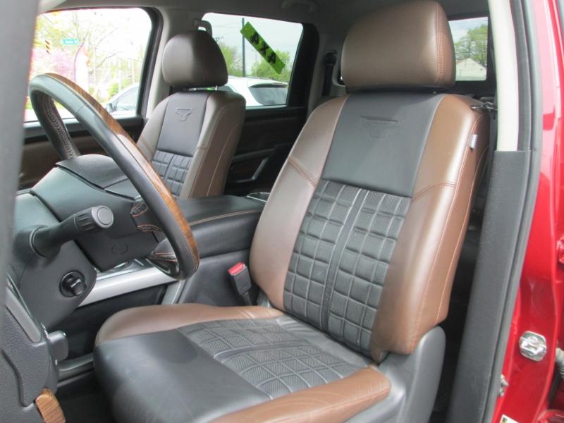 Nissan TITAN XD CREW CAB PLATINUM 4x4 2017 price $44,495