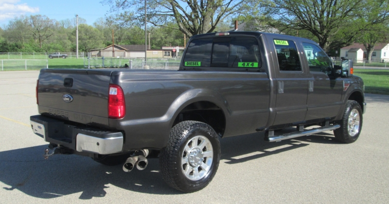 Ford SUPER DUTY F-350 DIESEL 4X4 CREW CAB LARIAT 2008 price $21,995