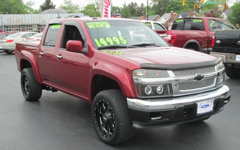 Chevrolet COLORADO CREW CAB LT 4X4 2011 price $14,995