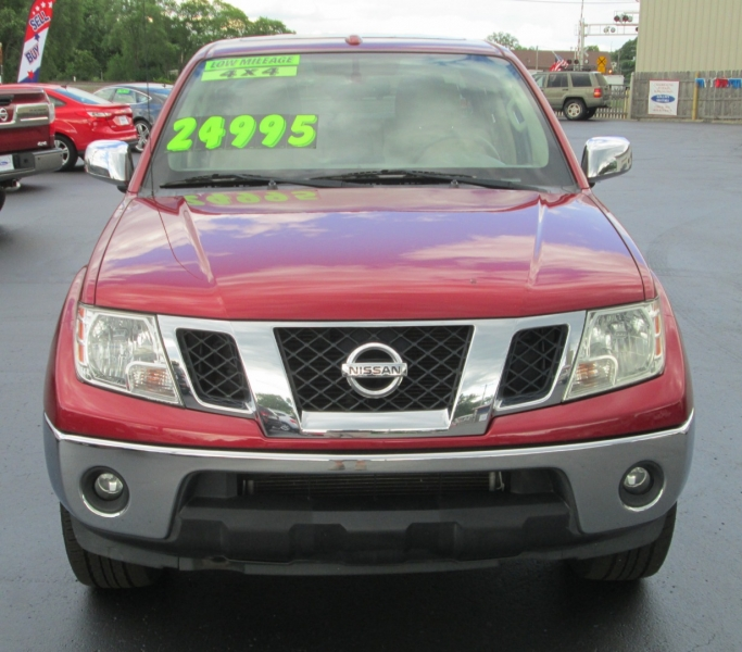 Nissan FRONTIER SL CREW CAB 4X4 2013 price $23,995