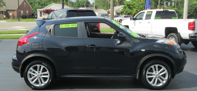 Nissan JUKE SL ALL WHEEL DRIVE 2013 price $9,995