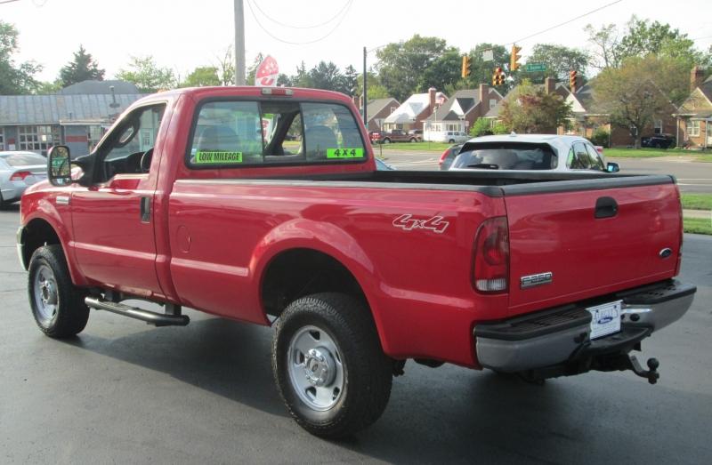 Ford SUPER DUTY F-250 REG CAB LONGBED 4X4 2006 price $17,795