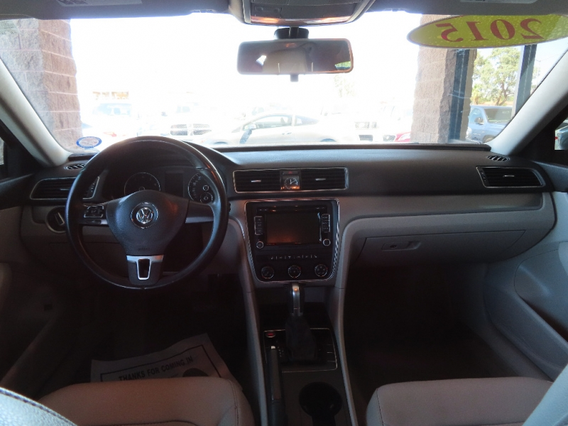 Volkswagen Passat 2015 price $11,995