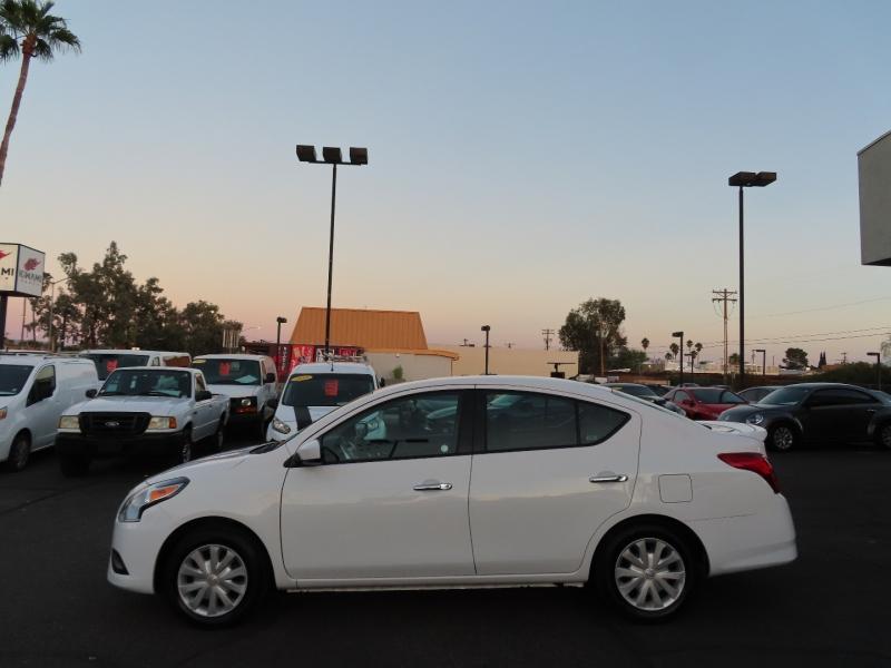 Nissan Versa 2017 price $10,995