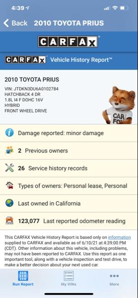 Toyota Prius 2010 price $8,995