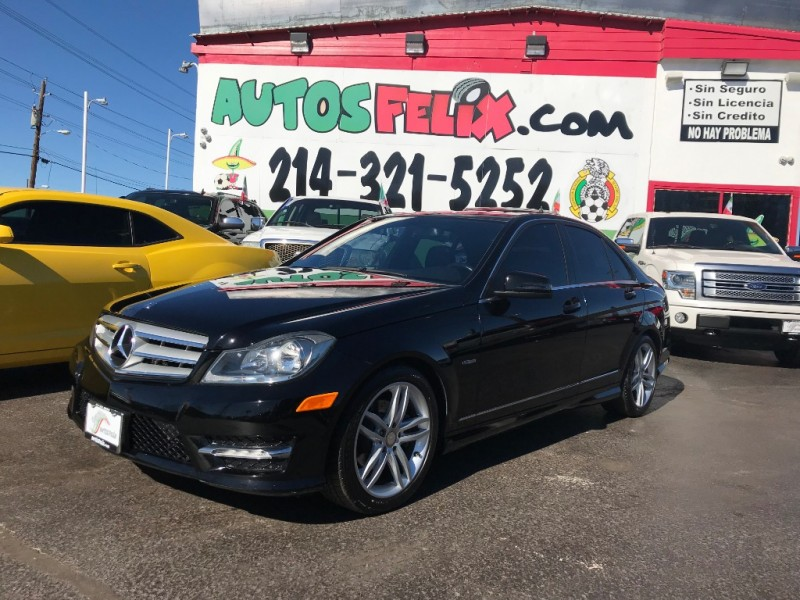 Mercedes-Benz C250 2012 price $1,000 Down!!