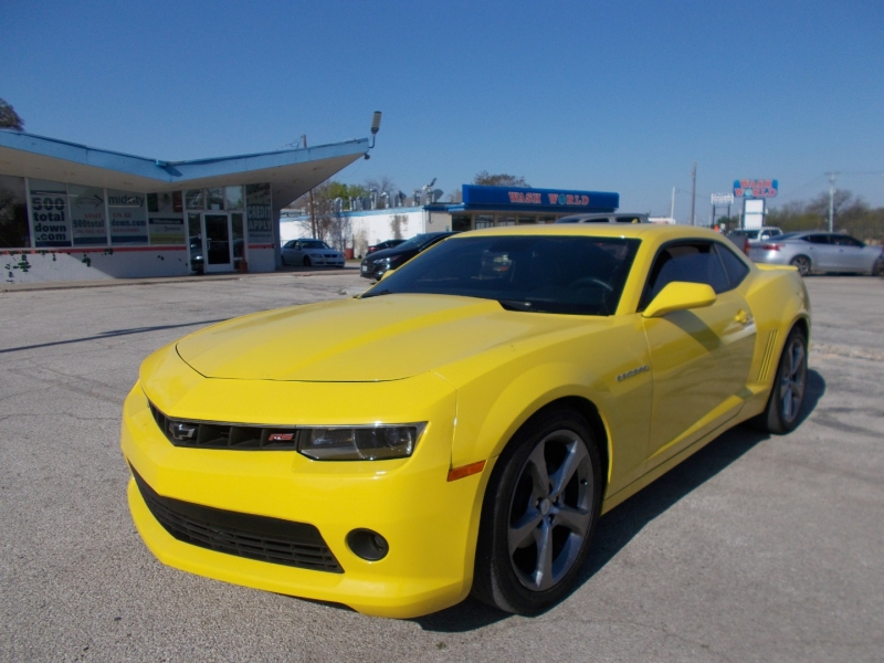 Chevrolet Camaro 2014 price $18,500