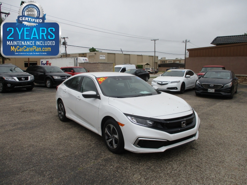 Honda Civic Sedan 2020 price $21,995