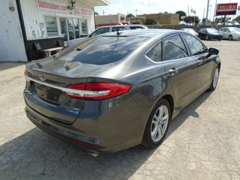 Ford Fusion Hybrid 2018 price $18,995