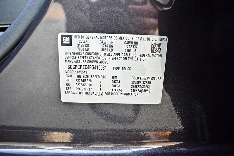 Chevrolet Silverado 1500 2015 price $24,450