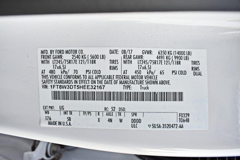 Ford Super Duty F-350 DRW 2017 price $57,900