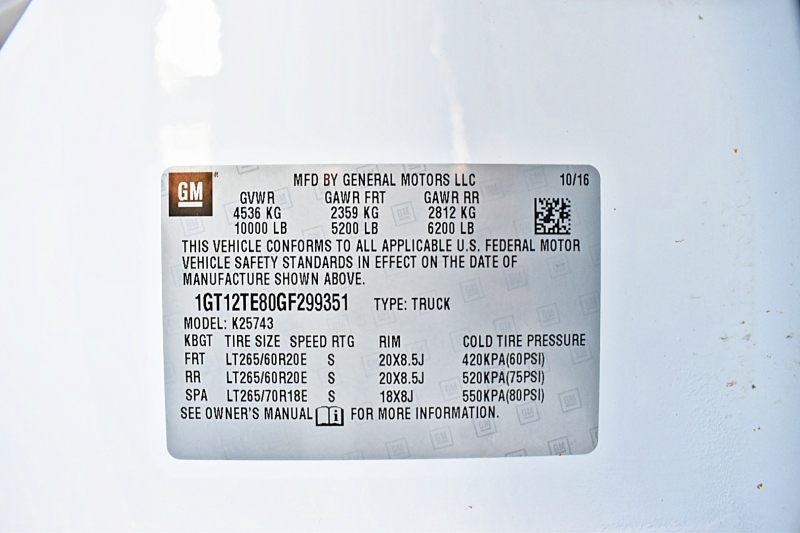 GMC Sierra 2500HD 2016 price $50,850