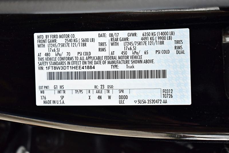 Ford Super Duty F-350 DRW 2017 price $67,900