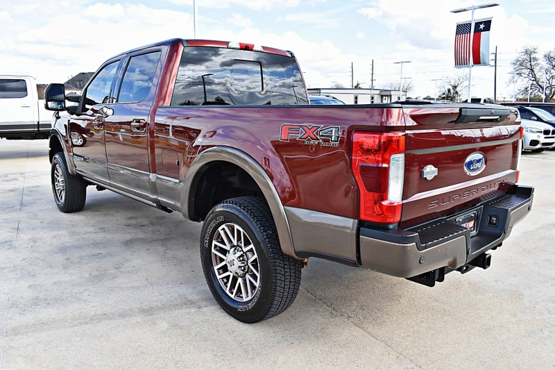 Ford F-250 King Ranch 4X4 6.7L 2017 price $58,900