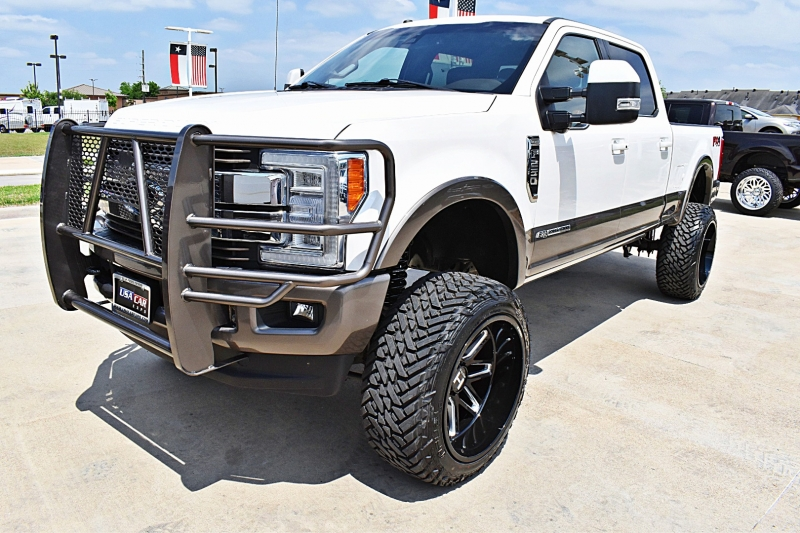 Ford F-250 King Ranch 4X4 Lifted 6.7L 2018 price $75,850