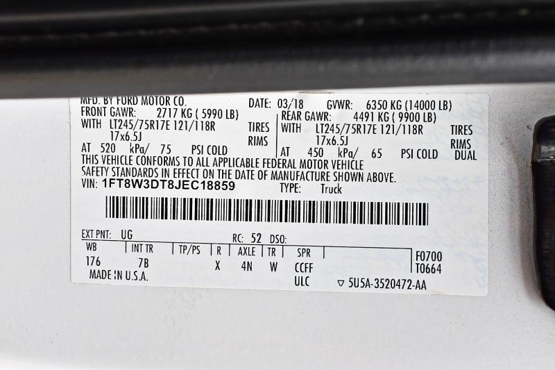Ford Super Duty F-350 DRW 2018 price $82,900