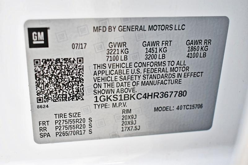 GMC Yukon 2017 price $44,750