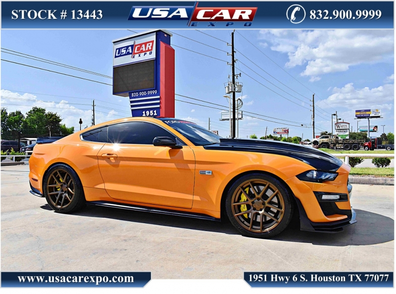 Ford Mustang 2019 price $43,900
