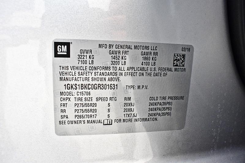 GMC Yukon 2016 price $38,900