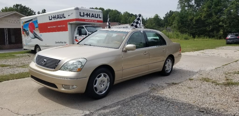 LEXUS LS 430 2002 price Call for Pricing.