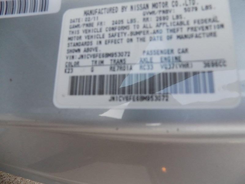 Infiniti G37 Convertible 2011 price $11,995