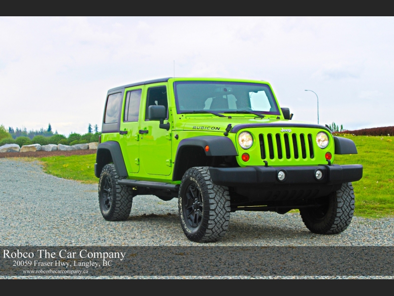 Jeep Wrangler Unlimited 2013 price $33,995