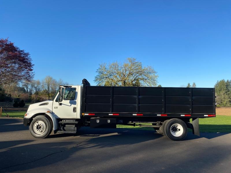 International DT466 20' Dump Body non CDL Truck 2007 price $48,900