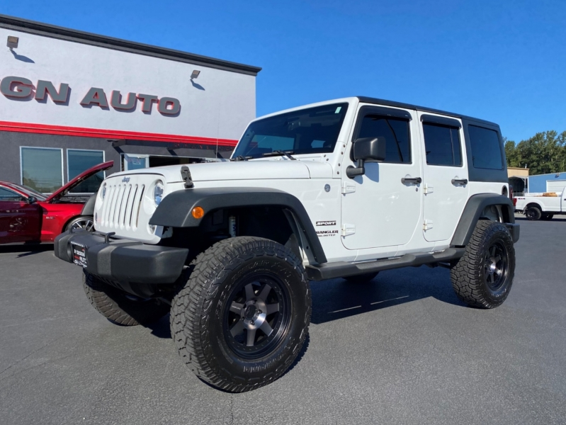 Jeep Wrangler Unlimited 2015 price $34,950