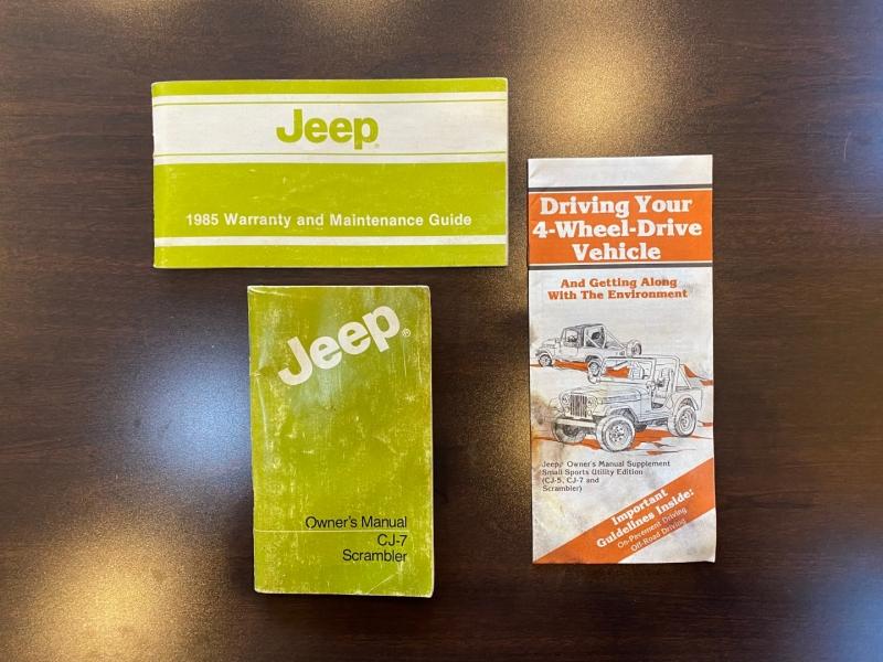 Jeep CJ 4WD 1985 price