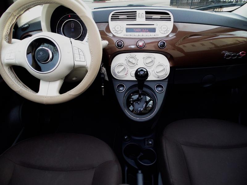 Fiat 500C Convertible Pop 2015 price $6,450
