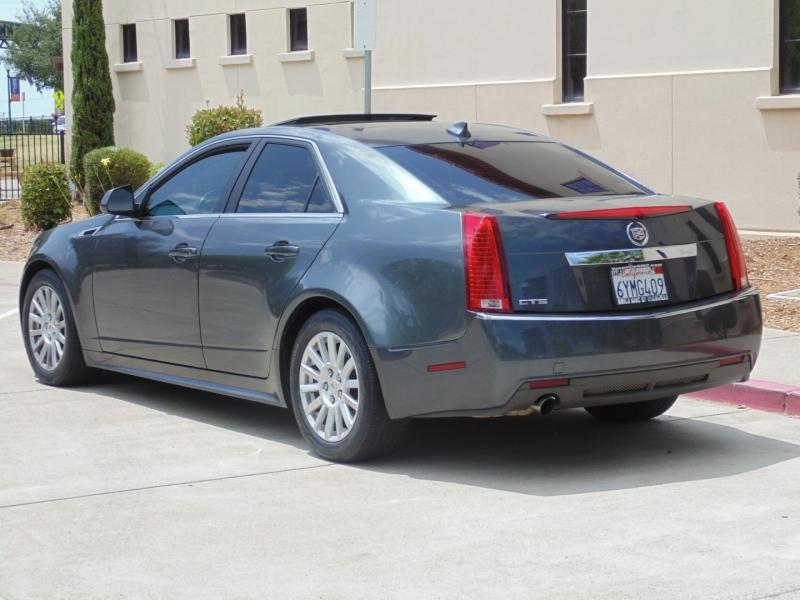 Cadillac CTS Sedan 3.0L Luxury 2013 price $12,775