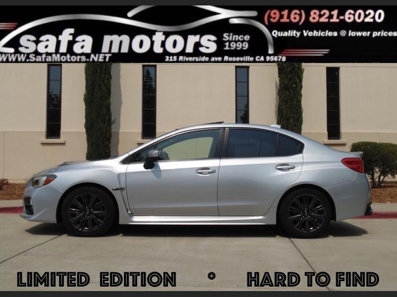 Subaru WRX 2015 price $22,855