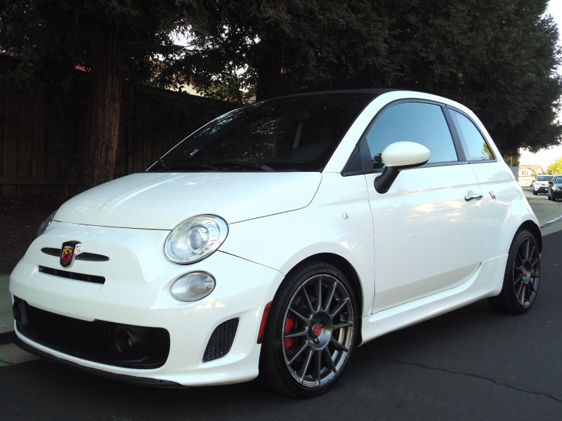 Fiat 500 Abarth Convertible 2D 2013 price $9,875