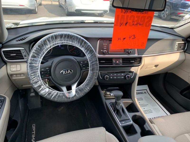 Kia Optima 2016 price