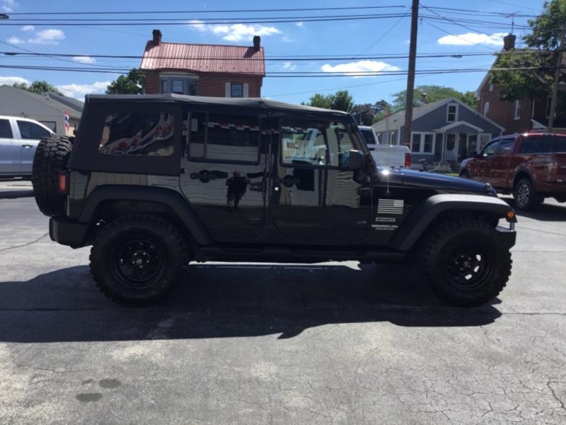 Jeep Wrangler Unlimited 2011 price $23,995