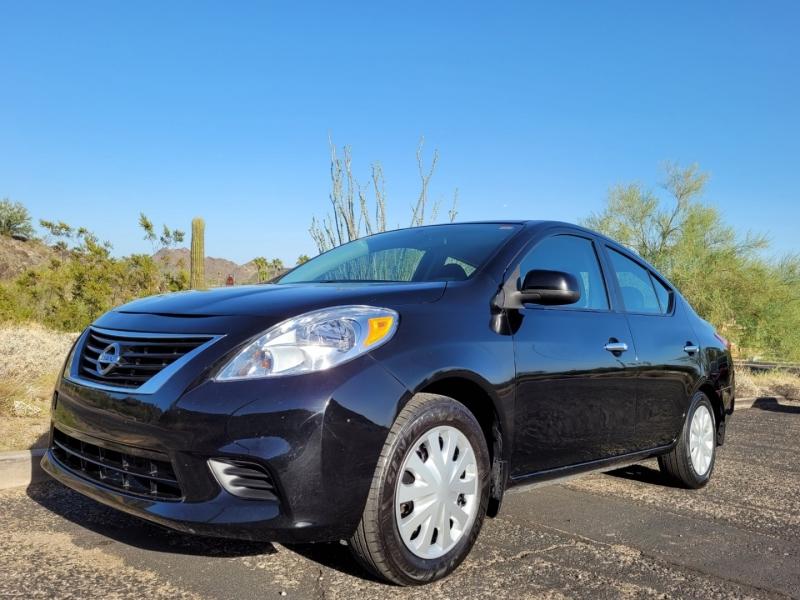 Nissan Versa 2012 price $4,995