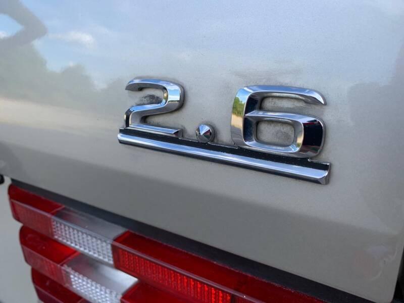 Mercedes-Benz 190-Class 1987 price $9,997