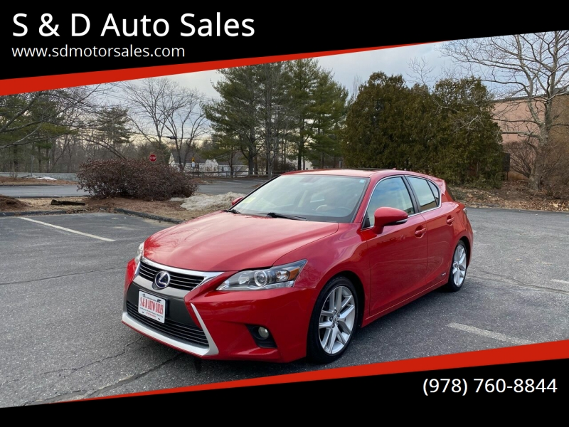 Lexus CT 200h 2014 price $10,997