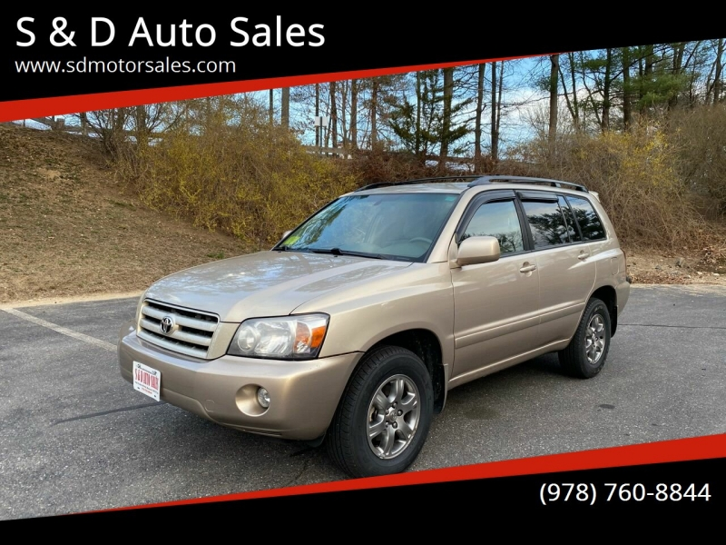Toyota Highlander 2006 price $7,997