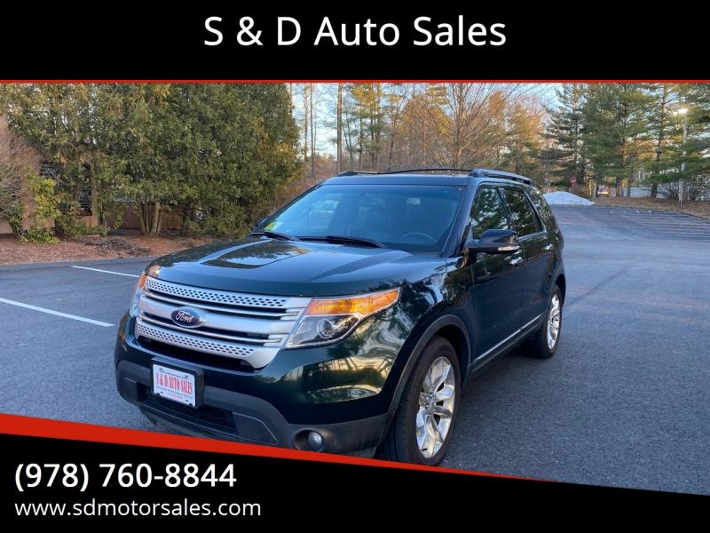Ford Explorer 2013 price $13,497