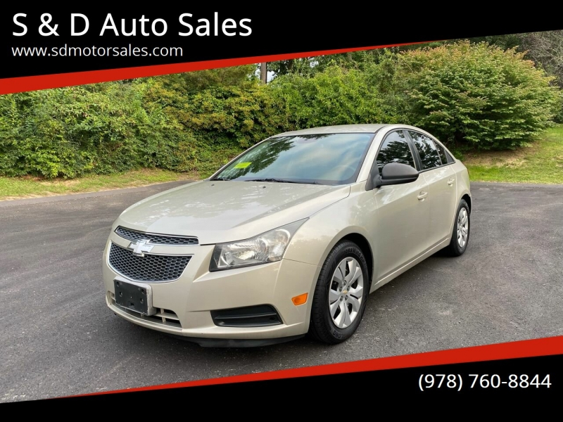Chevrolet Cruze 2013 price $6,997
