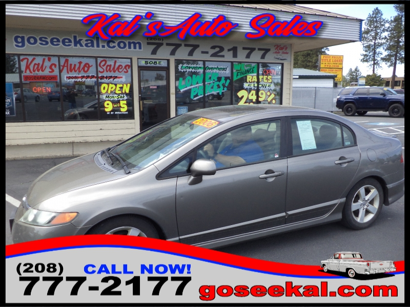 Honda Civic Sedan 2006 price $5,995