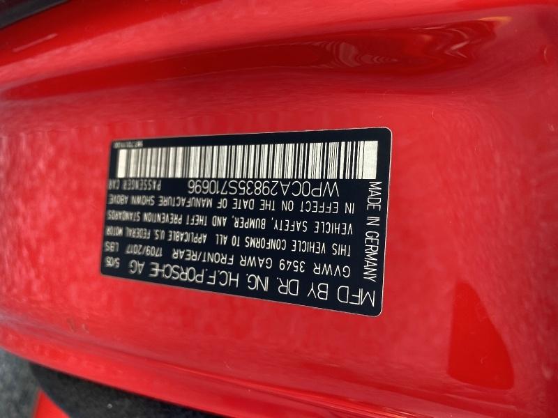 Porsche Boxster 2005 price $14,990
