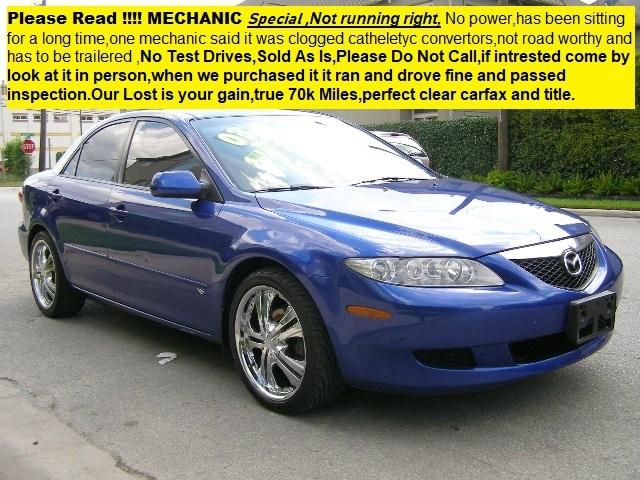 Mazda Mazda6 2003 price $1,990