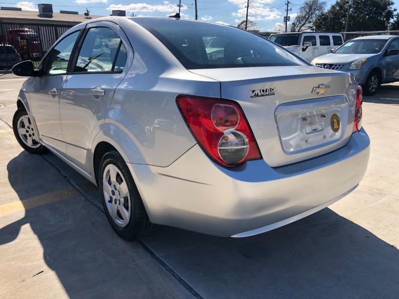 Chevrolet Sonic 2014 price $4,490